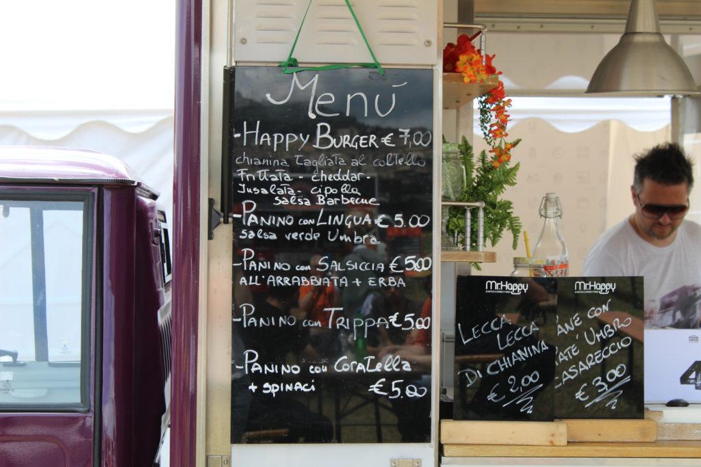 włoski street food