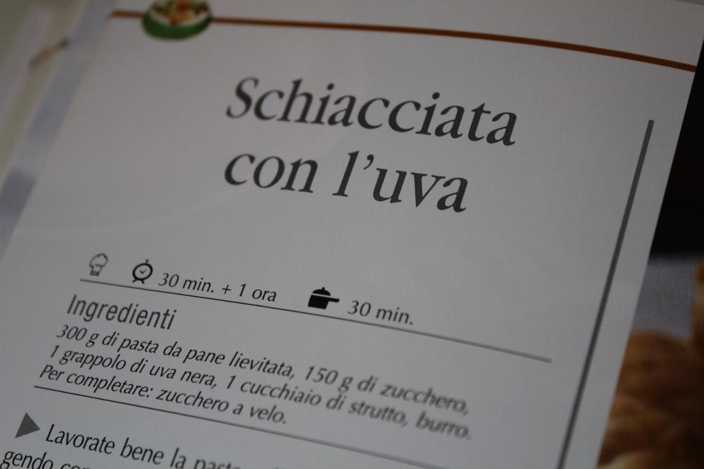 przepis w języku włoskim