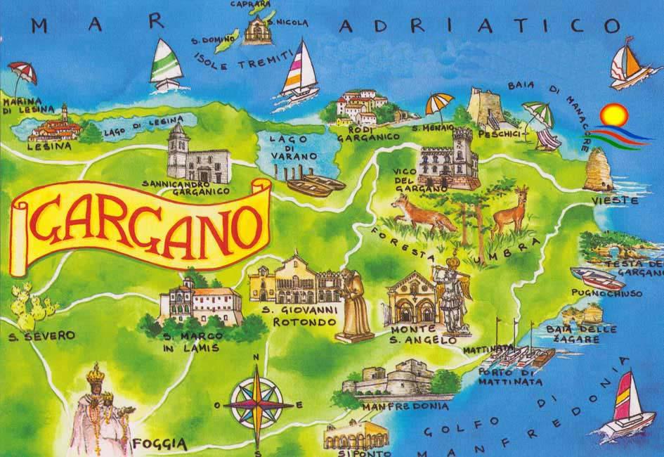 Wakacje we Włoszech Gargano