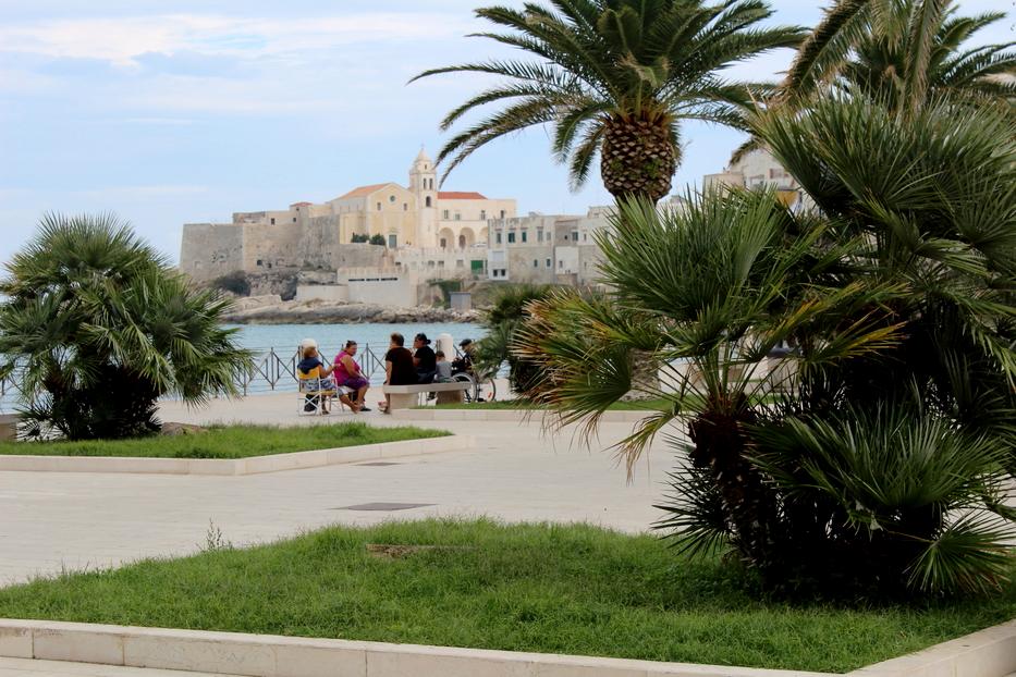 miasteczko Vieste Apulia Włochy