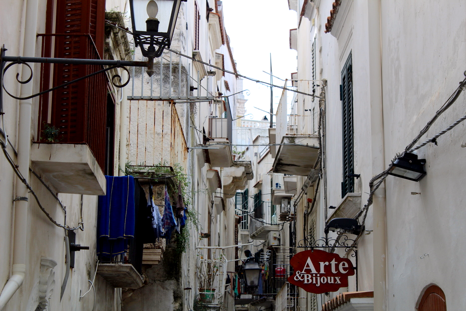 Vieste włoskie uliczki