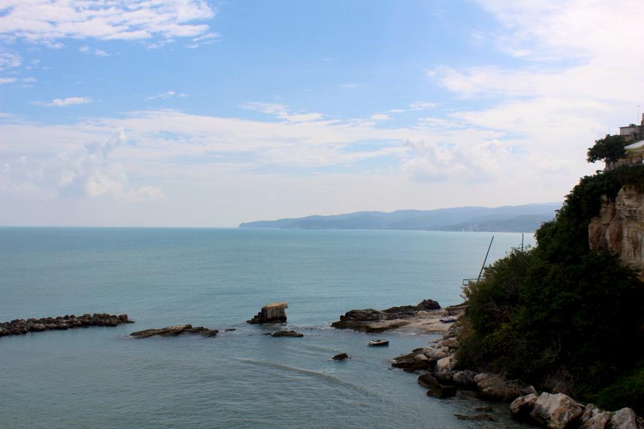 Vieste morze Włochy półwysep Gargano