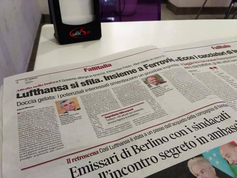 włochy aktualności włoskie alitalia