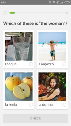 duolingo aplikacja włoski android iphone