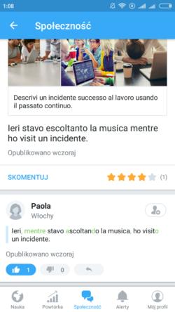 aplikacje do nauki włoskiego busuu