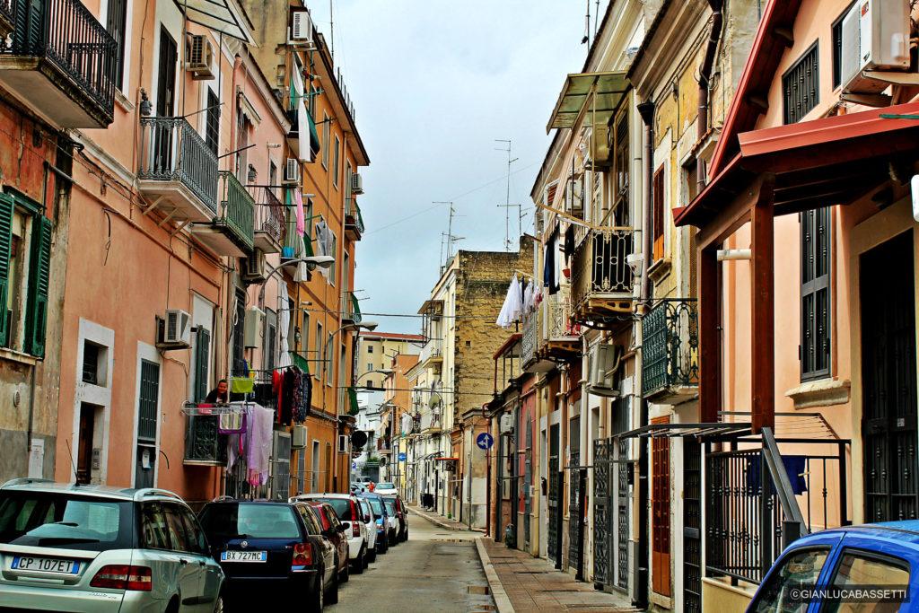 włoskie pranie Foggia Apulia Włochy