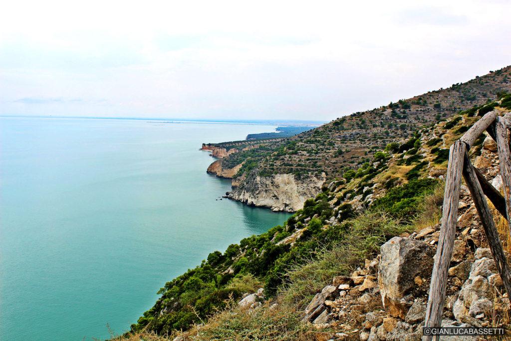 Apulia Morze Góry Gargano Monte Saraceno