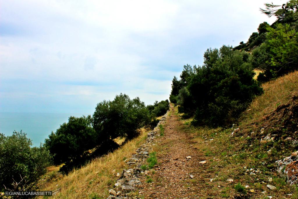 Apulia Monte Saraceno Gargano trasa