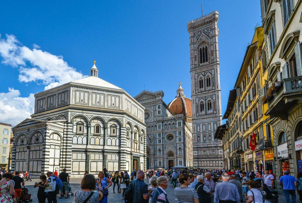 turyści we florencjituryści we florencji