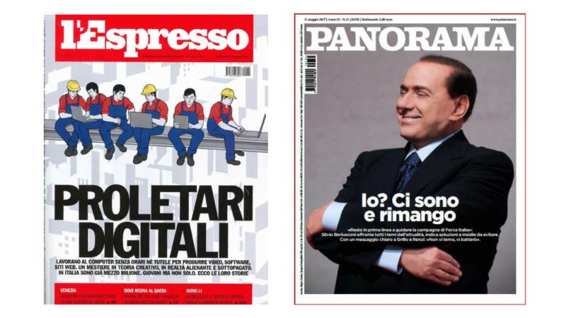 panorama espresso włoskie czasopisma prasa