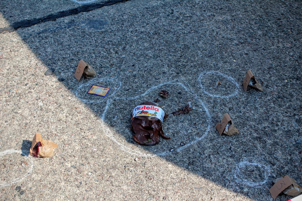 Kradzież nutelli dzieje się we włoszech