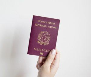 włoski paszport
