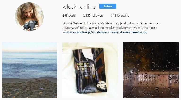Instagram Włoski Online