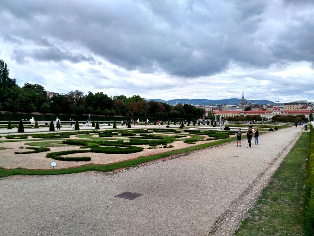 Ogród Belwederu, Wiedeń