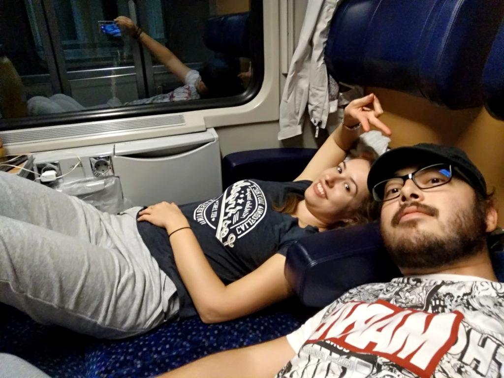 Podróż pociągiem do Włoch