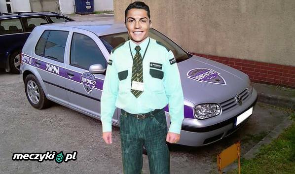 Christiano Ronaldo w Juventusie Mem
