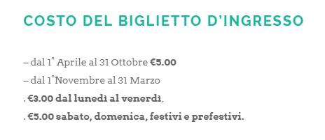 Civita di Bagnoregio - bilety wstępu - cena