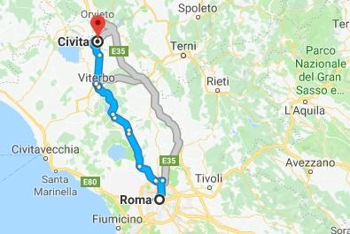 civita di bagnoregio - gdzie to jest