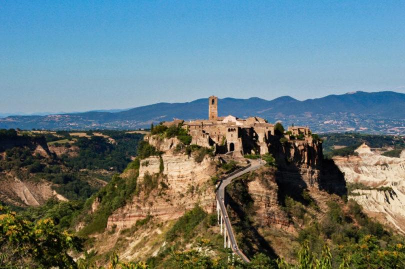 civita di bagnoregio miasto które umiera miasto widmo włochy