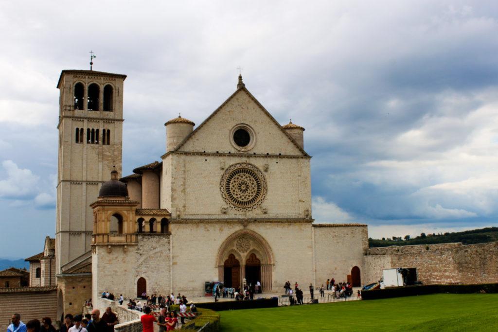 bazylika św. franciszka asyż włochy
