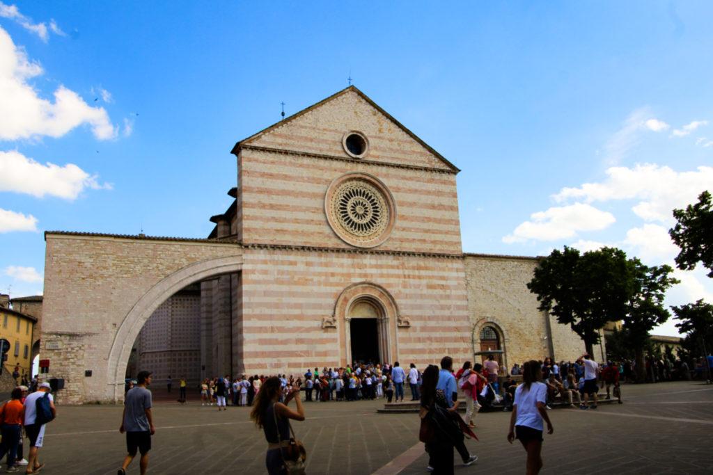 Bazylika św. Klary, Asyż, Włochy