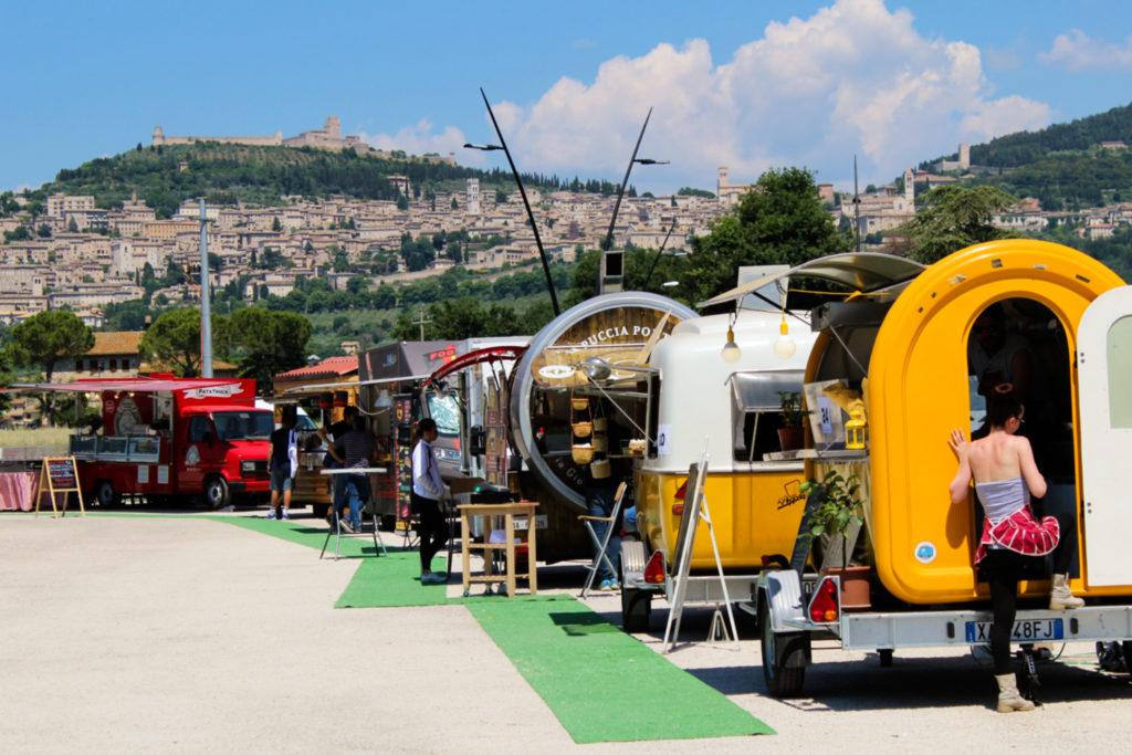 Festiwal włoskiego street foodu u stóp Asyżu