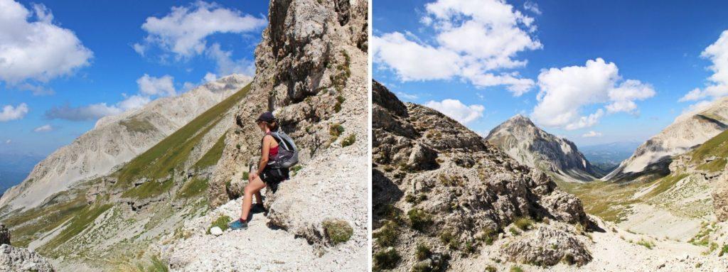 Przełęcz Passo della Portella Gran Sasso Abruzja Włochy