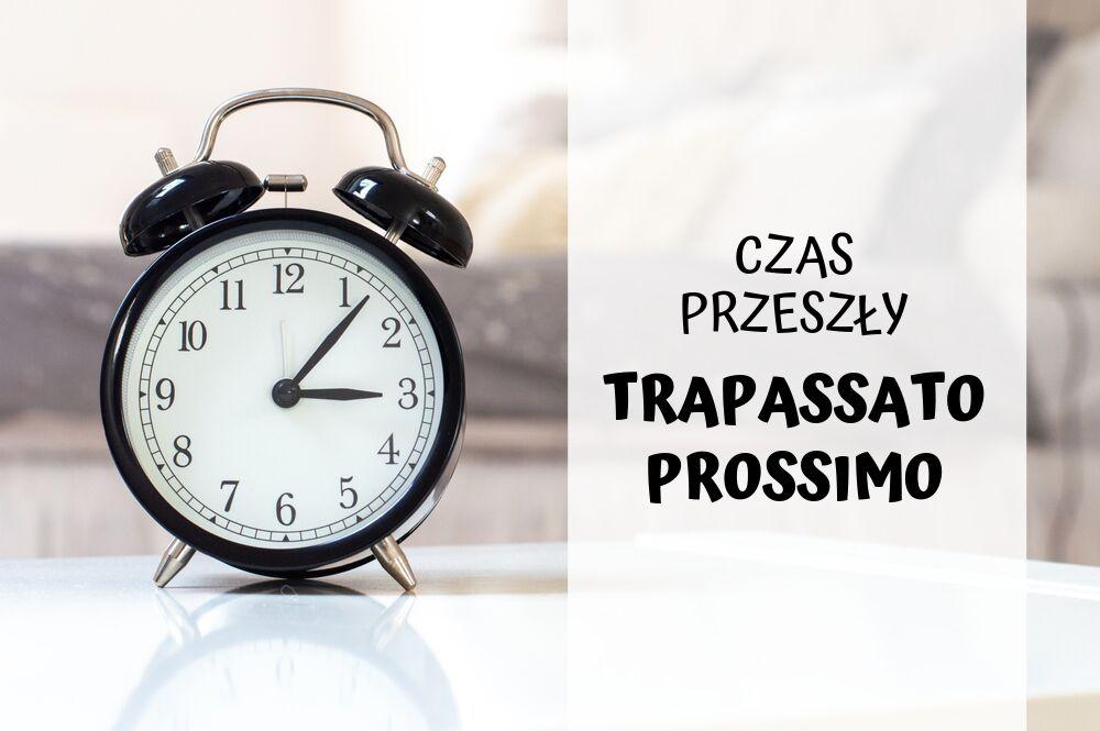 Trapassato Prossimo Czas przeszły Język włoski Okładka