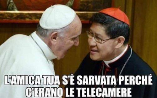 papież Franciszek mem