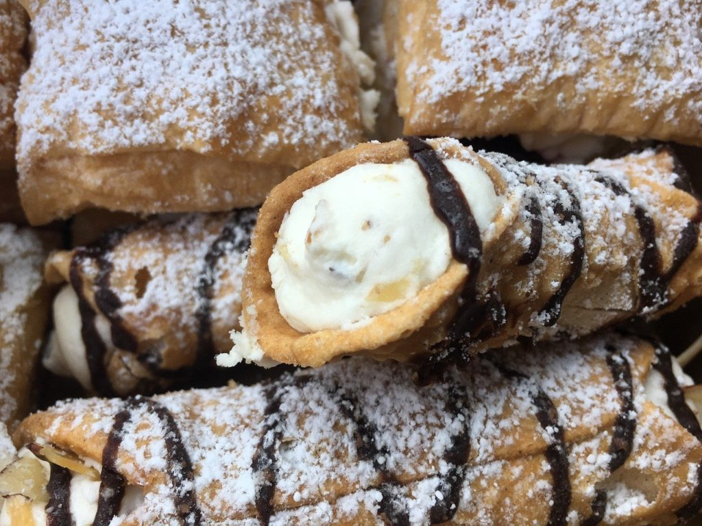 Cannolo włoskie ciastko