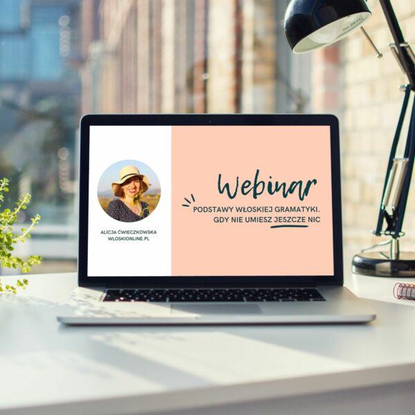 webinar podstawy wloskiej gramatyki